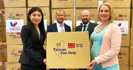 芬蘭檢驗「台灣捐的口罩」20萬片「品質好到嚇人」