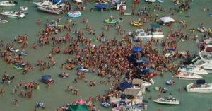 遊艇「百人開趴狂歡」慶祝國慶日 官方證實:裡面有人確診!