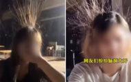 影/正妹「頭髮突然豎起來」以為靜電 專家傻眼:差點沒命!