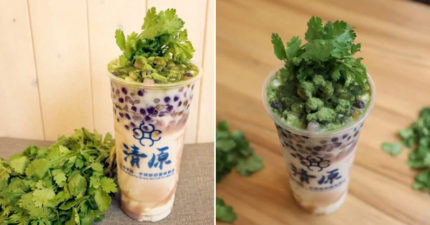 飲料店推「香菜芋泥奶」紅到國外 靈感竟來自「台灣小吃」!