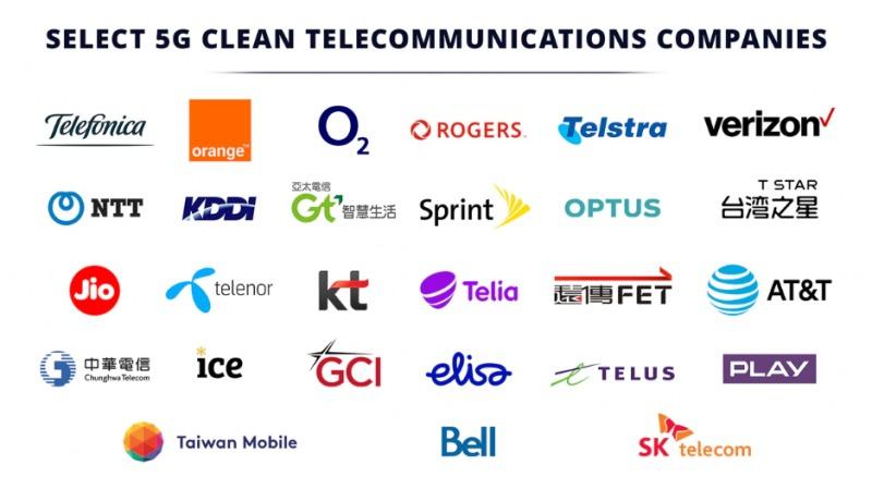 美國公佈「5G乾淨網路」名單 台灣「5大電信商」全入榜!