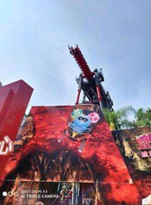 影/台中寶麗樂園斷軌列車「20人卡在空中」!天空都是尖叫聲
