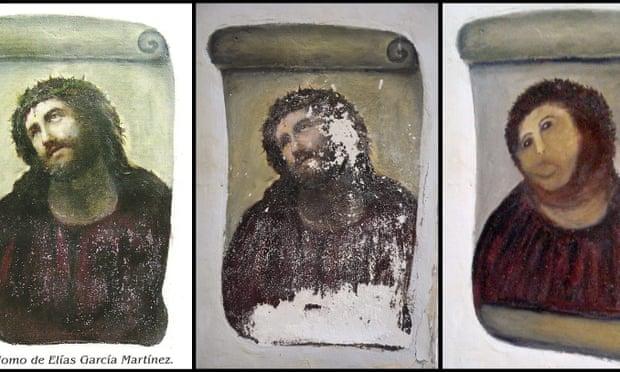兩光修復師把「17世紀聖母→冷笑大媽」補3次救不回來結果超慘