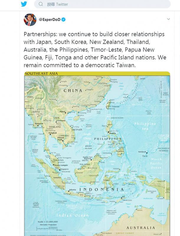 美批中國「模擬攻台」在破壞兩岸關係 直嗆:會繼續軍售給台灣