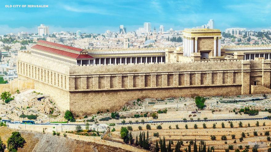 建築師還原世界遺產「原本的樣子」幾根破柱過去是整片皇城