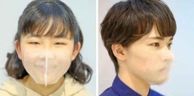 髮廊推出「黏貼式口罩」 解決你被勒到耳朵痛的困擾