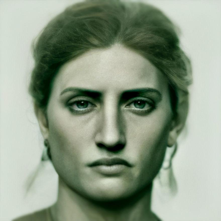 把世界知名藝術品「變回真人」 大衛像變「綠眼睛帥哥」超迷人