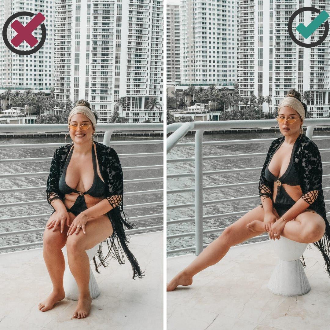 時尚攝影師公開「超模級上鏡技巧」 只要記住「身體金三角」!
