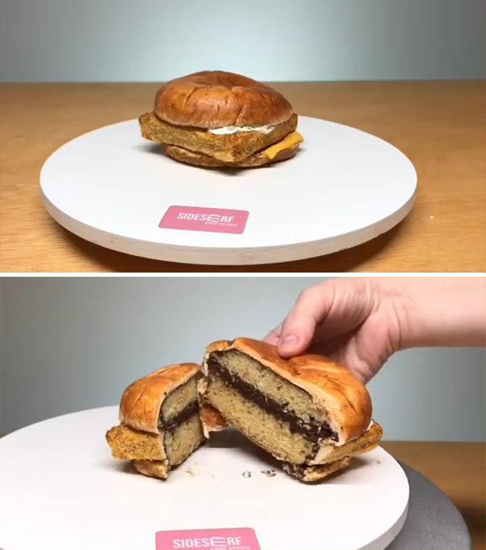Sideserf超寫實蛋糕