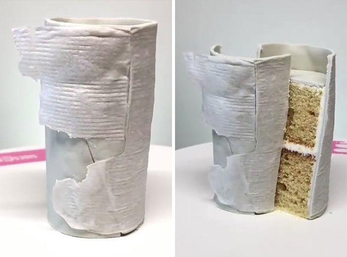 Sideserf超写实蛋糕
