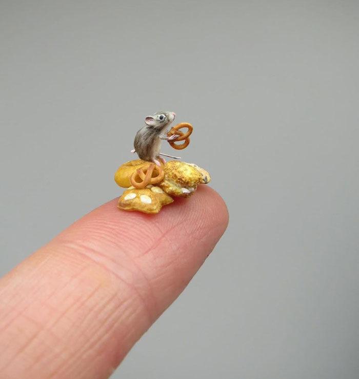 30個「比本尊還惹人愛」的袖珍動物 連水花都能神還原!