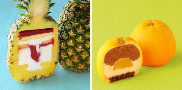 水果裡藏蛋糕!「果肉變罪惡鮮奶油」拿來送禮超威風