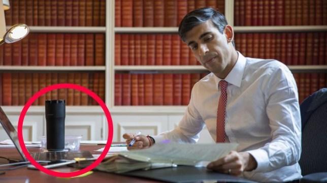 議員公開「縮減預算」認真照 網抓包桌上保溫杯...超貴!