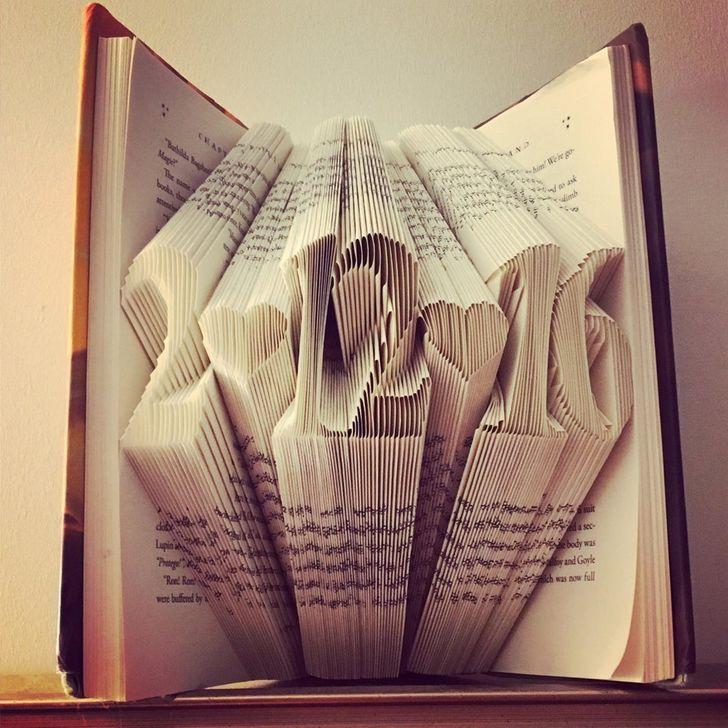 15個你收到「一輩子不會忘記」的禮物 用書本「摺出紀念日」!