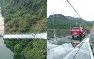 中國開通「世界最長玻璃橋」 「汽車也可上」...民眾抖爆!
