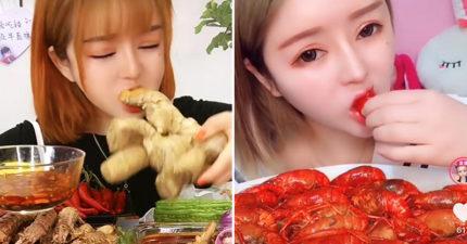 中國轟大胃王「浪費糧食」 大量「吃播帳號」可能被消失!