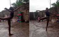 影/奈及利亞男孩「雨中跳芭蕾」 受邀紐約名校「還送獎學金」