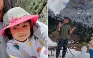 單親爸用「腳踏拖車」帶女兒橫跨中國71天 網淚讚:精神富養!