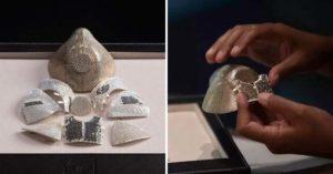 富商打造世界最貴「純金鑲鑽口罩」炫富...還真的有效!