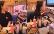 白目女「狂舔迴轉壽司」被罵翻 她喊冤:我只是想娛樂大家!