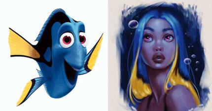 藝術家把「迪士尼動物」變成人!《獅子王》娜娜比碧昂絲還性感