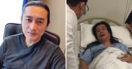 黃安「自爆有病」 跟兒子談身後事:骨灰想撒「台灣海峽」!