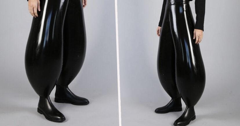 最新時尚充氣褲「靈感來自狗狗」 網:還以為《超人特攻隊》