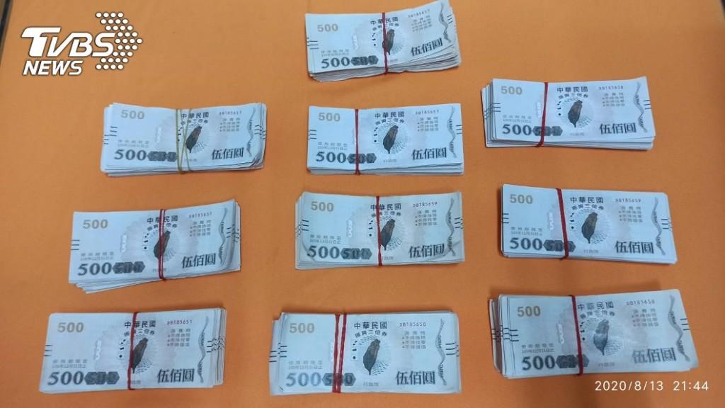 偽鈔工廠偷印「假三倍券」被抓...庫存3億全被查封!