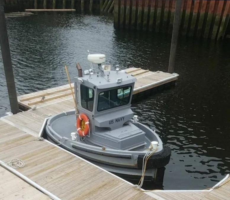 史上最小美軍船艦!超呆萌「船寶寶」竟是數十億財產的最猛保鑣