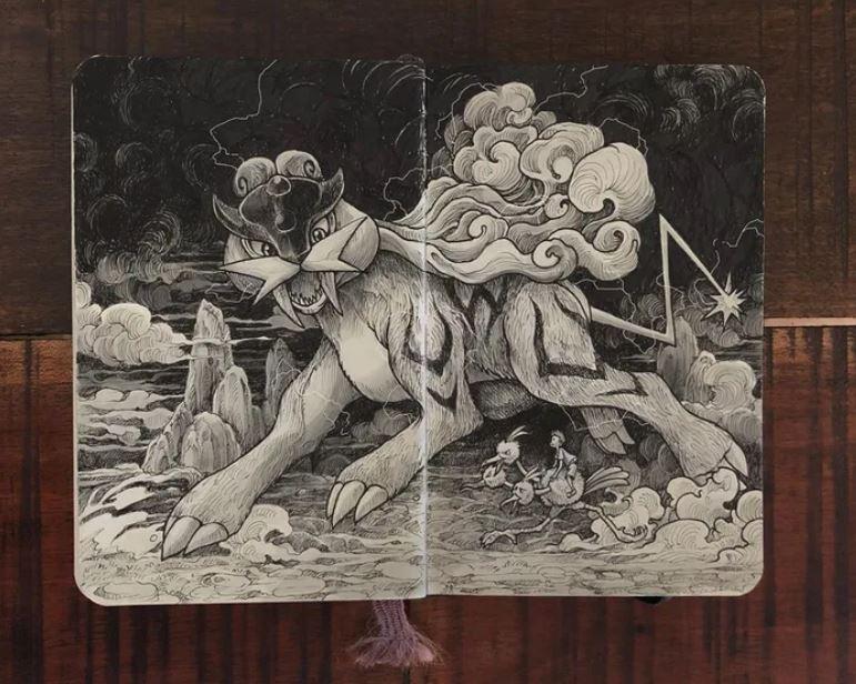 他把寶可夢改造成「絕美神獸」 鳳王「佔領日本」氣勢超強