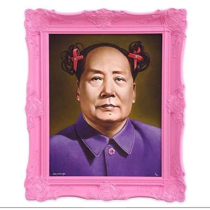 藝術家把「各國領導→粉紅女郎」 普丁靠「超辣身材」完勝!