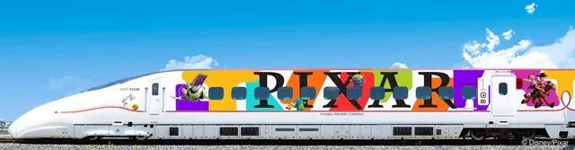 「皮克斯彩繪列車」9月啟動 首航才有的「限量乘車證」必搶!