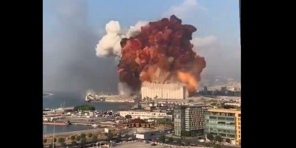 黎巴嫩「首都大爆炸」4千人傷 川普直嗆:是人為的恐攻!