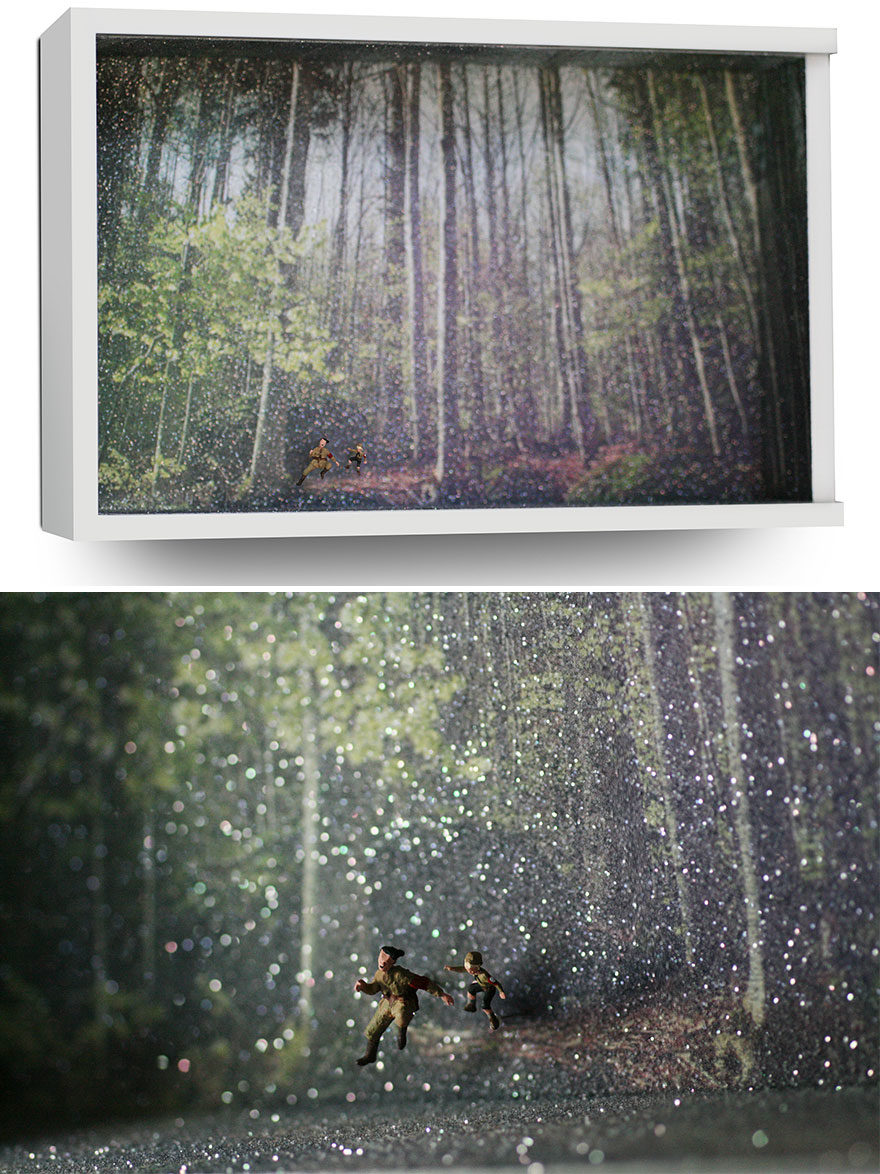 25張微型電影「立體劇照」 用黃金比例把整部片藏在盒子裡!