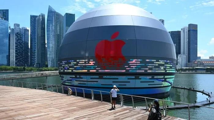 新加坡「漂浮大蘋果」將誕生 第一間「海上Apple Store」果粉急朝聖!