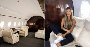 網美在「豪華機艙」打卡炫耀 被揭「騙人真相」:根本不在飛機上!