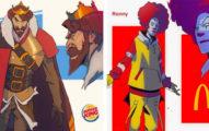 把知名速食品牌「化身超級英雄」!肯德基MAN到爆、可口可樂超科幻