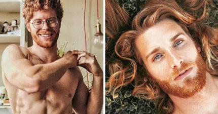 20張彷彿從童話裡走出來的「天菜紅髮男」 手臂「佈滿雀斑」超性感!
