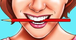 研究發現「咬鉛筆」可以讓你更快樂 連自己的大腦都可以騙過