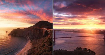 攝影師認證「只有這裡有」的最美日出 「霧浪」就是天堂的樣子!