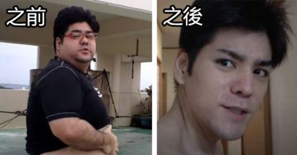 胖子都是潛力股!胖哥「只用一年變天菜」衣服下更驚人