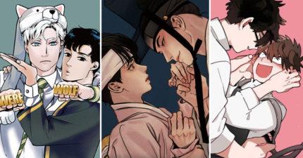 盤點近年你絕不能錯過的「韓國BL漫畫」 一到晚上...就會變大狗的美男子!(上)