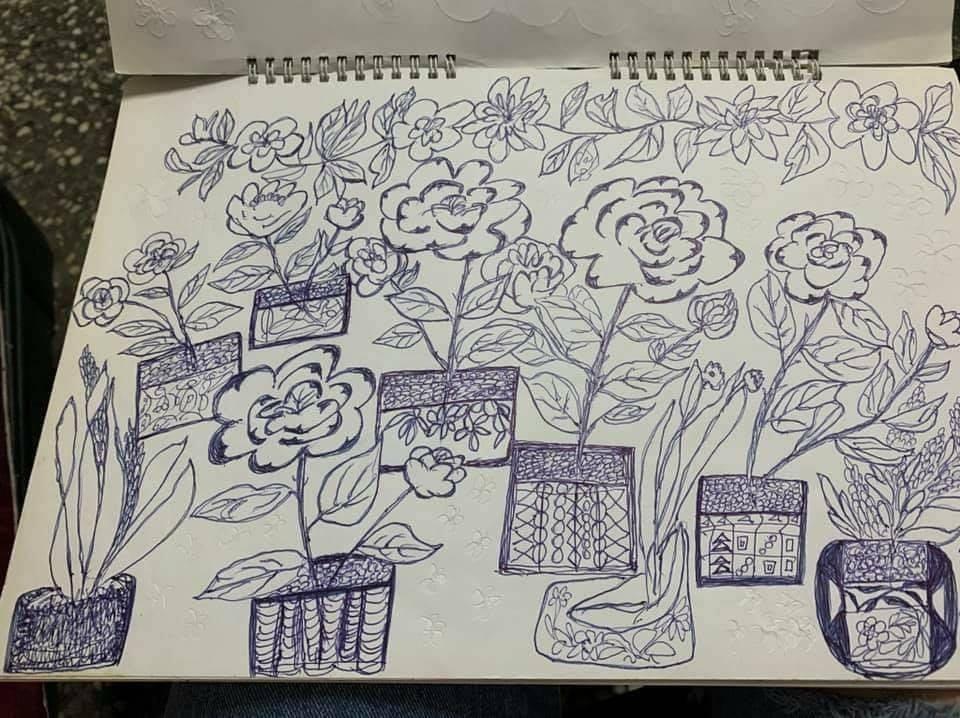 翻開「阿嬤的畫冊」超震撼 網見「超高齡」:被年代耽誤的畫家!