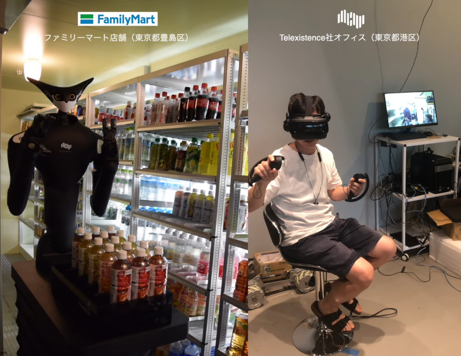 超商推「分身機器人」幫上架!店員從此「在家VR上班」:但人類還是比較快