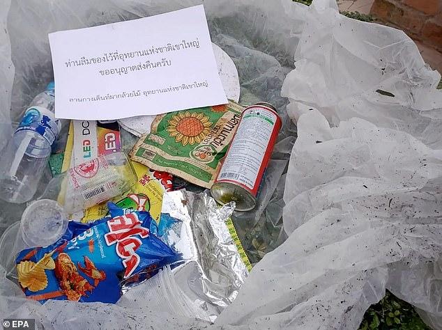 遊客在國家公園「亂丟垃圾」 政府「整包寄回」:你忘記帶走了