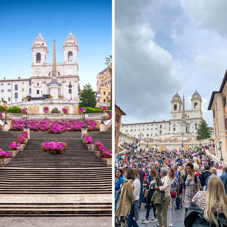 16張「理想VS現實有落差」美景照 想拍「空城照」卻見滿滿人頭