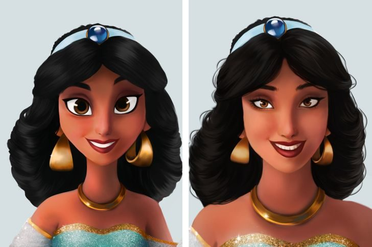 迪士尼公主變普妹