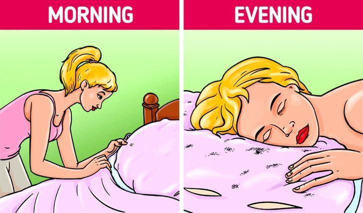 起床後不要鋪床