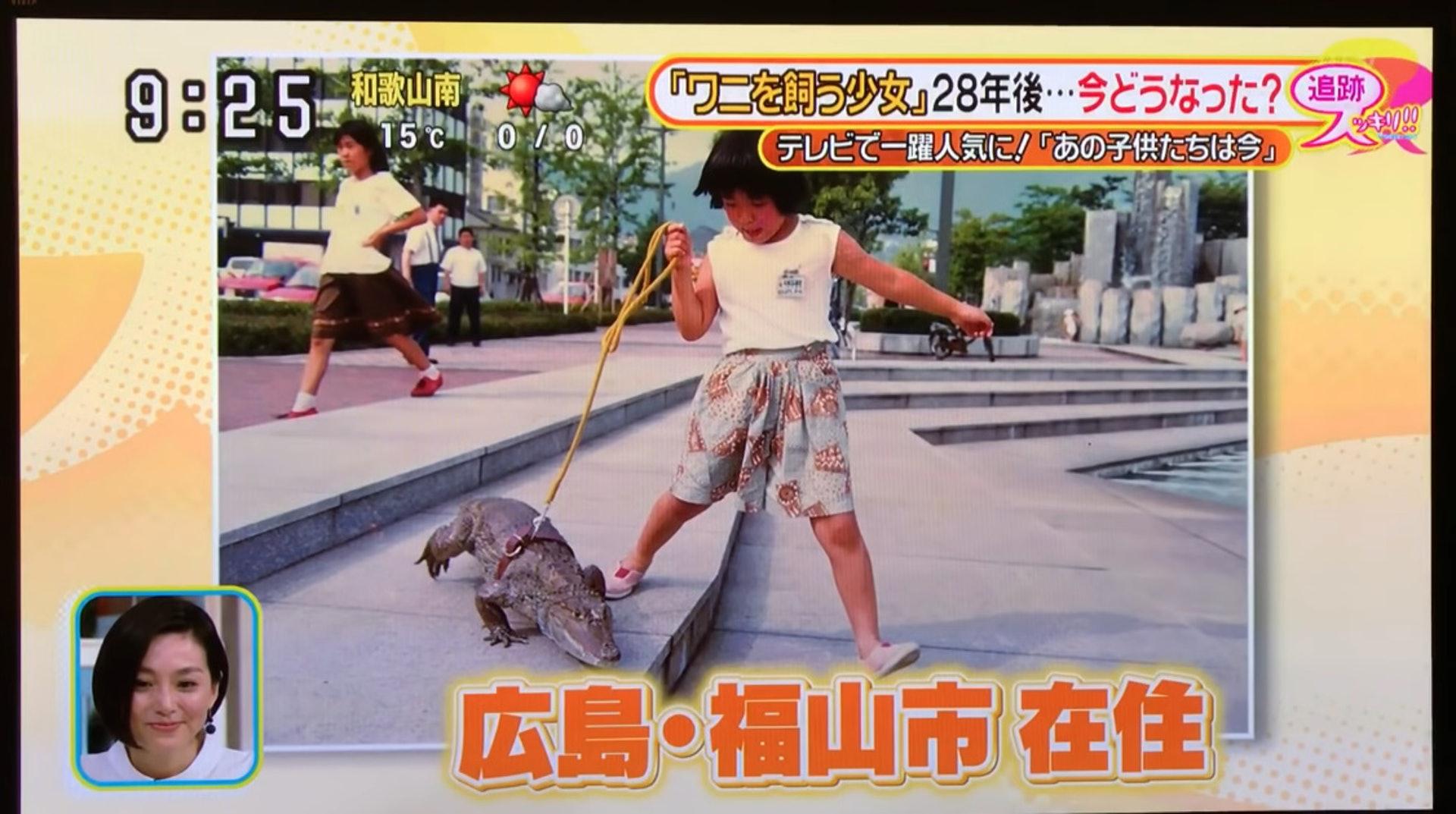 阿伯養「2公尺巨鱷」同床38年 每天一起睡覺...還會到街上散步!