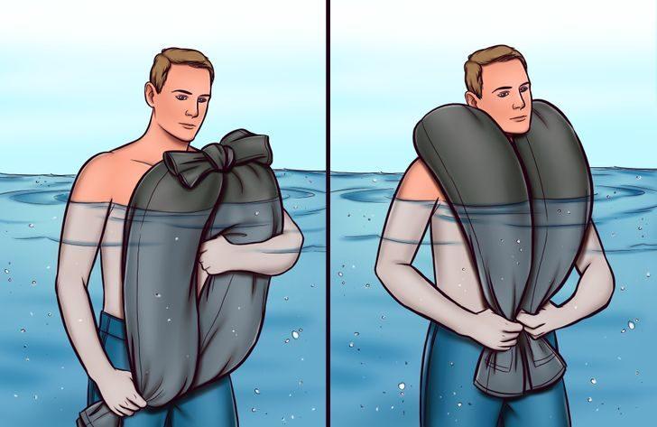 10個「遇到緊急狀況能自救」的生存技能 溺水時用「一條褲子」救命